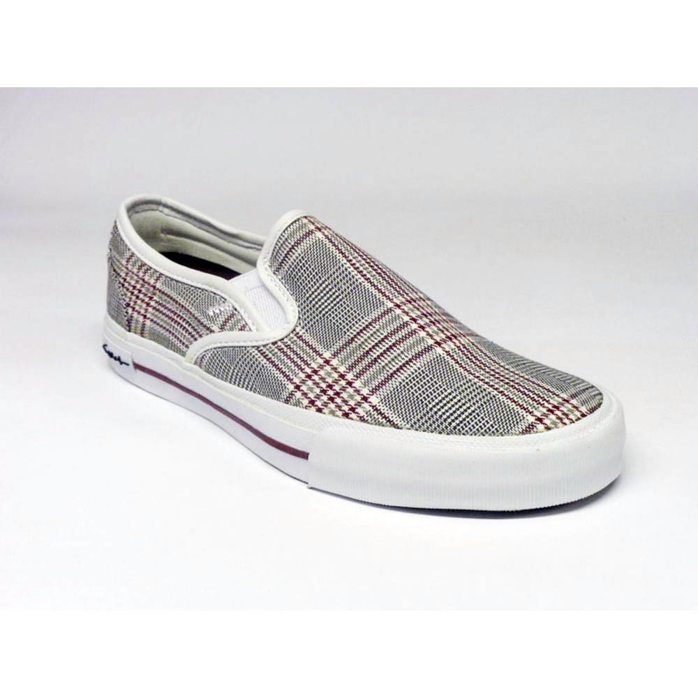 C1rca Select Slip White Tart Plaid Women's Shoes