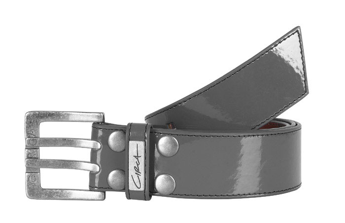C1RCA SIMPLE PEWTER WOMENS BELT