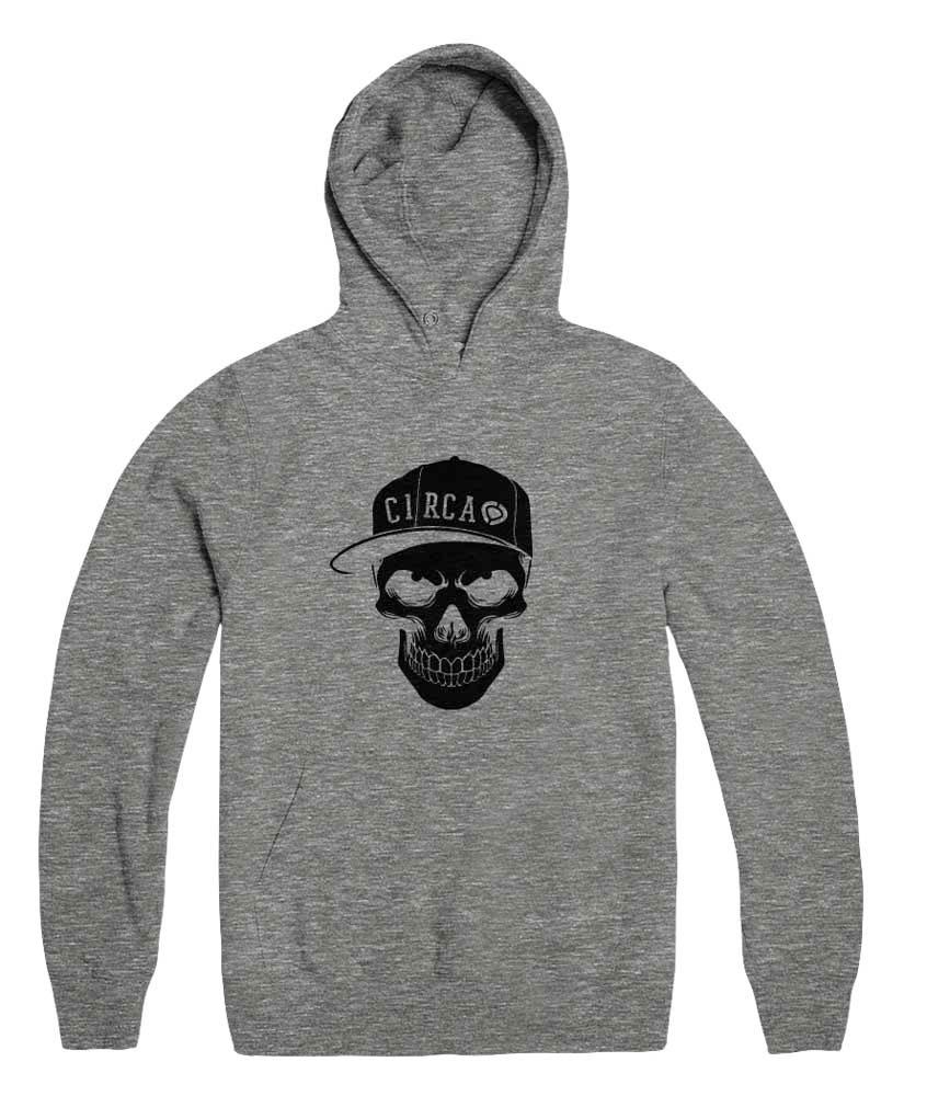 C1rca Skull Athletic Grey Men's Hoodie