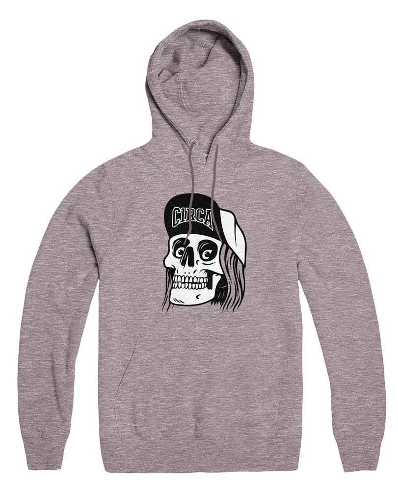 C1rca Skull Cap Athletic Grey Ανδρικό Φούτερ Κουκούλα