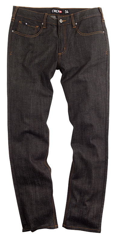 C1rca Slim Denim Black Dry Rinse  Men's Pants