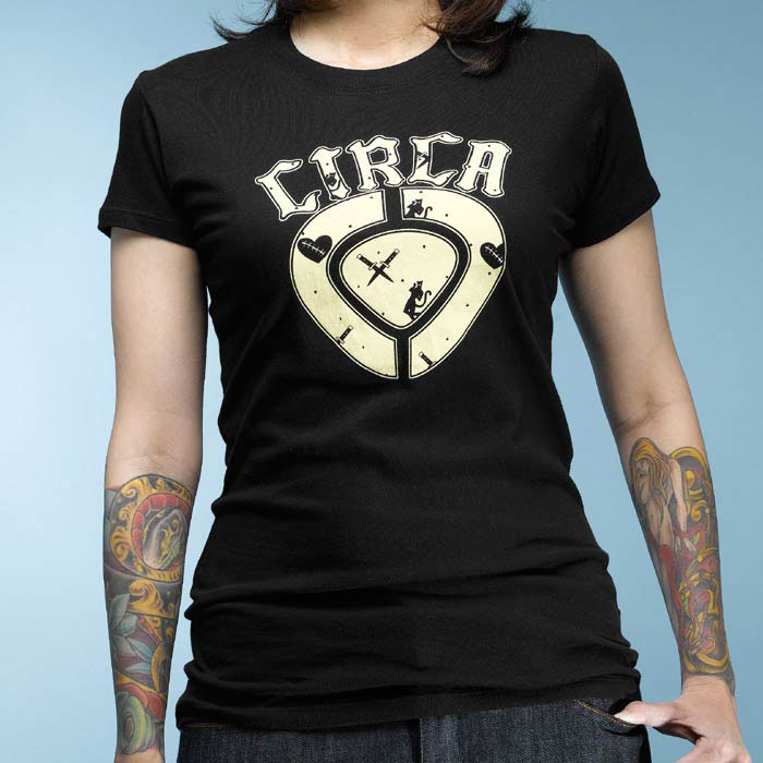 C1rca Spades Icon Black T-Shirt