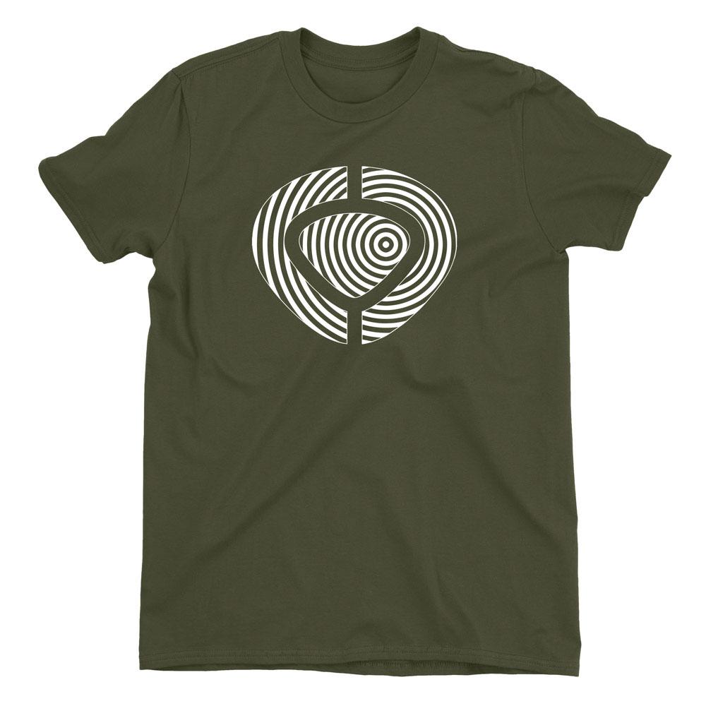 C1rca Spiral Military Green Ανδρικό T-Shirt