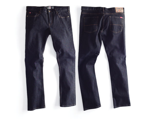 C1rca Staple Slim Black Αντρικό Παντελόνι