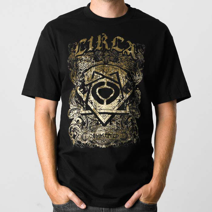 C1rca Stigmata Black Men's T-Shirt