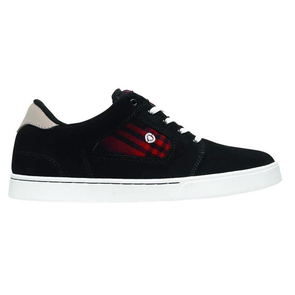 C1rca Talon Black/Red Plaid Men's Shoes