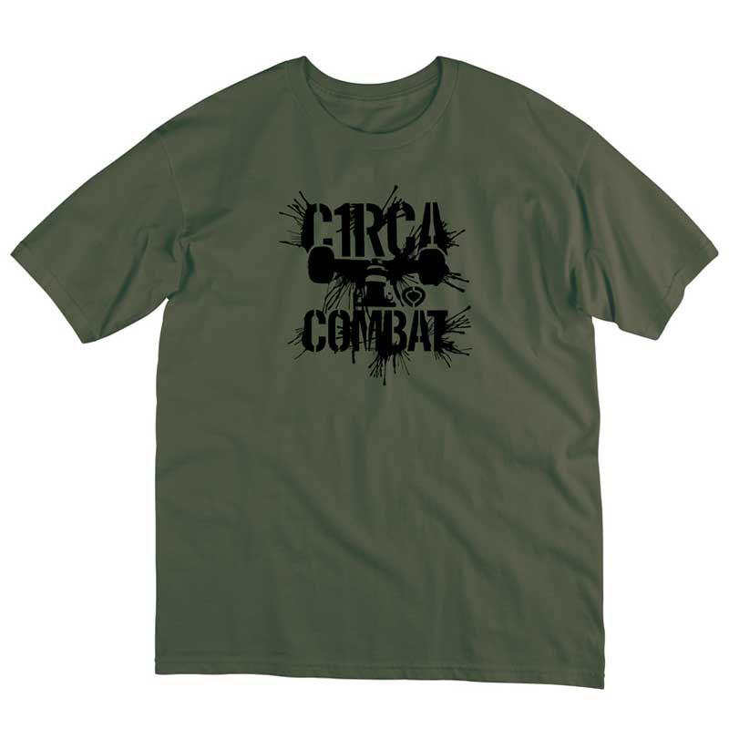 C1rca Truck Splat Military Green Men's T-Shirt