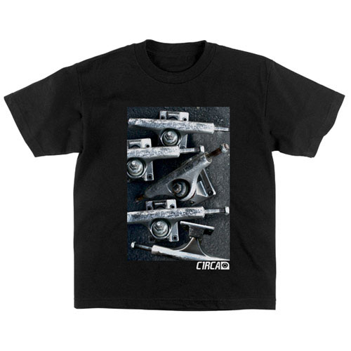 C1rca Trucks Black Kid's T-Shirt