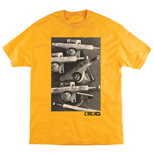 C1rca Trucks Gold Men's T-Shirt