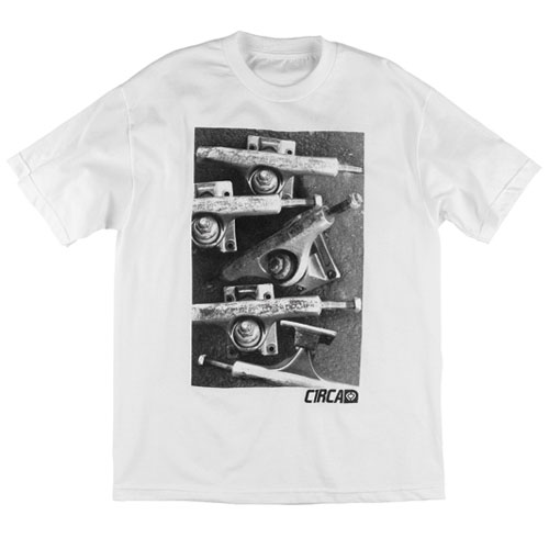 C1rca Trucks White Men's T-Shirt
