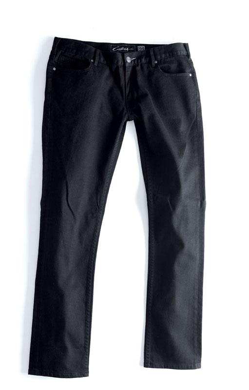 C1rca Unisex Slim Black Αντρικό Παντελόνι