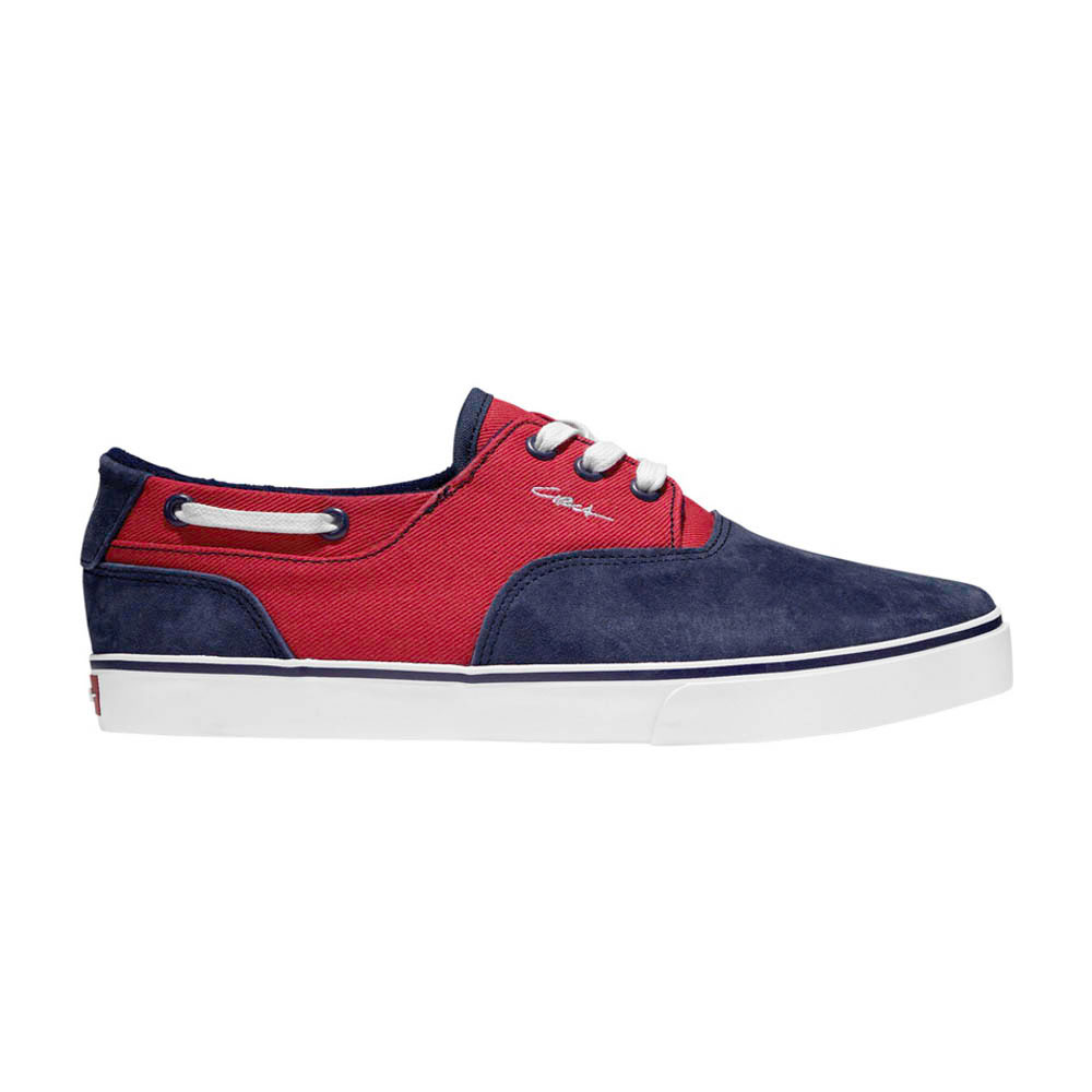C1rca Valeo Blue/Red Twill Men's Shoes