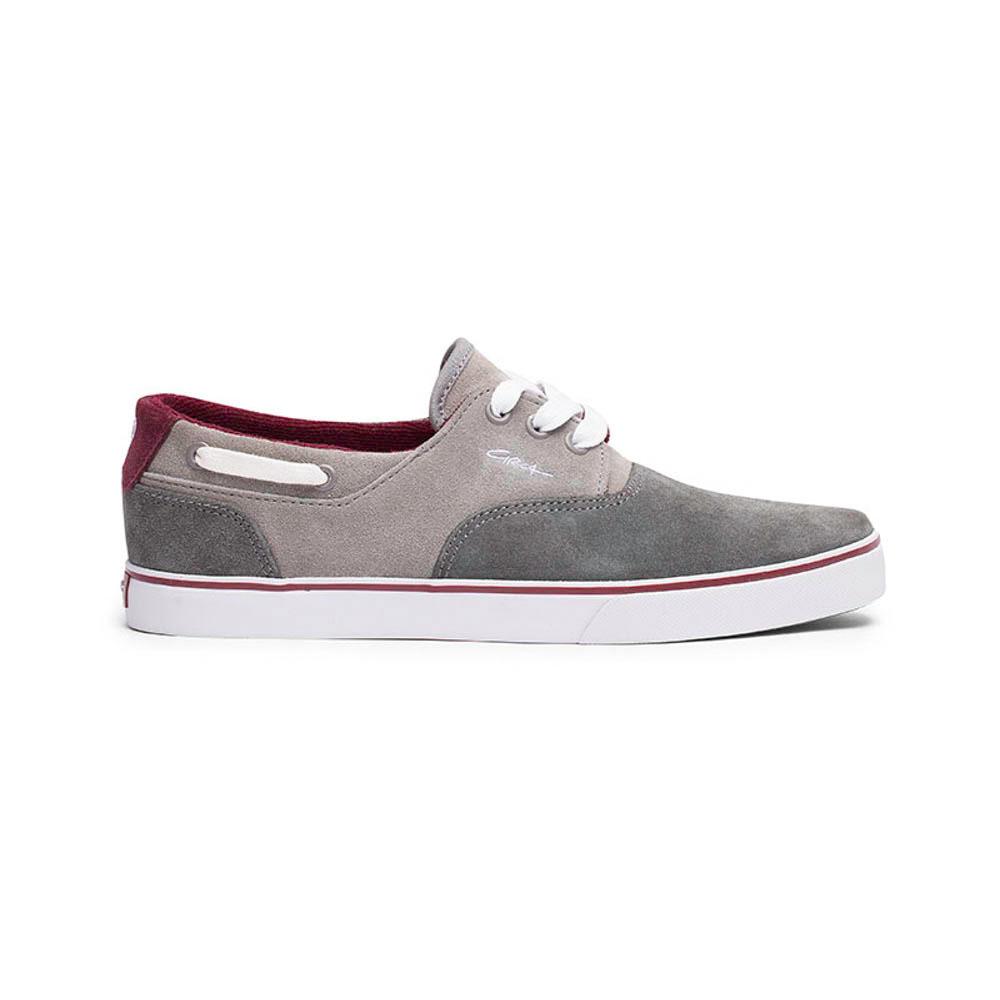 C1rca Valeo Gray/Oxblood Men's Shoes