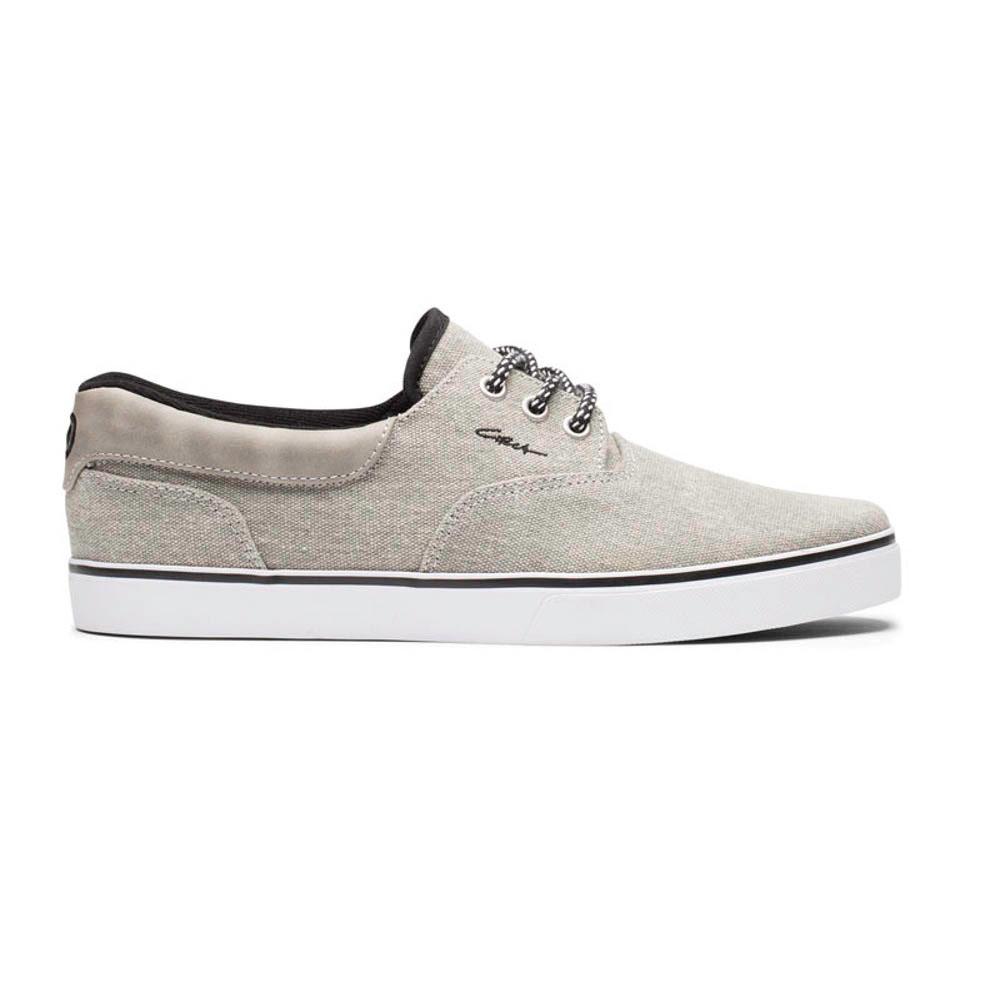 C1rca Valeo Se Gray Black Waxed Canvas Men's Shoes