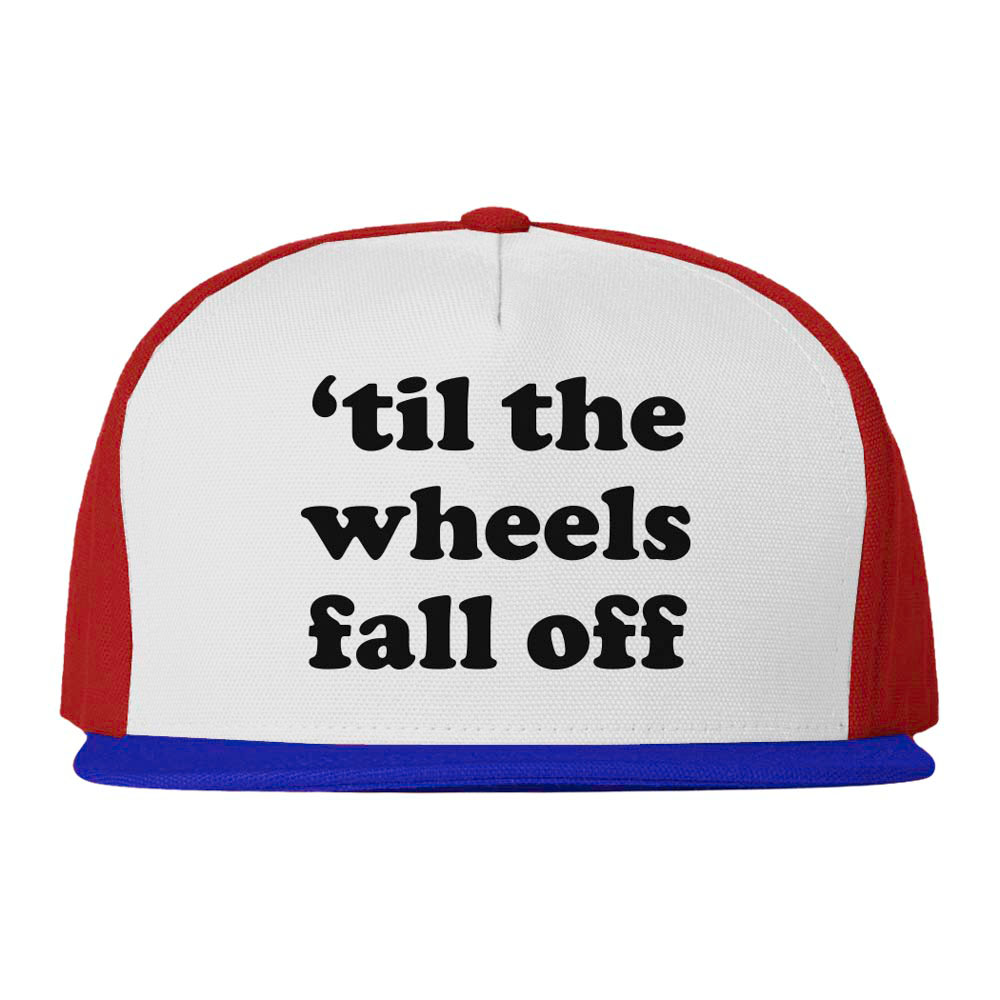 C1rca Wheels Snapback 80's White Red Royal Καπέλο