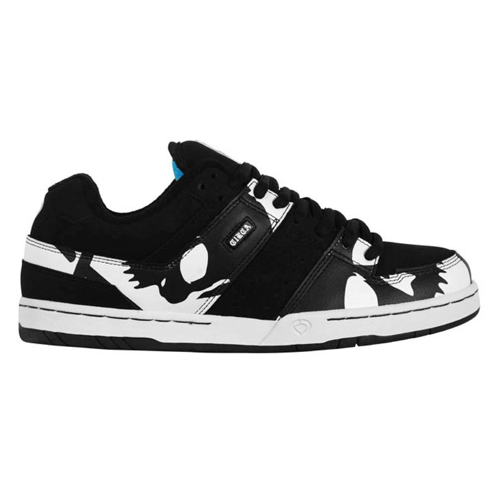 C1rca Widowmaker Black/White/B.Skull Men's Shoes