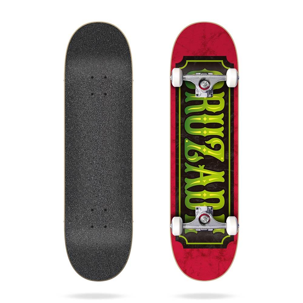 Cruzade Stamp 8.125 Complete Skateboard