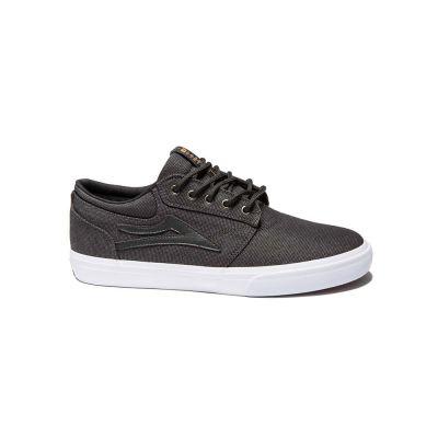 Lakai Griffin Black Textile Men's Shoes