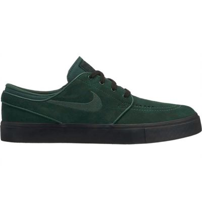 Persona enferma Canal Cada semana  Nike SB Zoom Stefan Janoski Midnight Green Black Men's Shoes