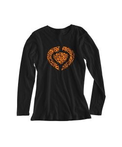 C1rca Animal Icon Black Women's Long Sleeve T-Shirt