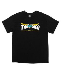 Thrasher X Venture Trucks Awake Black Men's T-Shirt