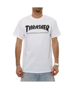 Thrasher Skate Mag White Men's T-Shirt