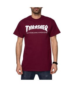 Thrasher Skate Mag Maroon Men's T-Shirt