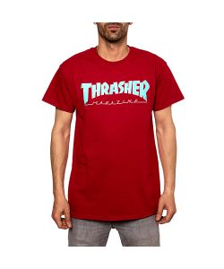 Thrasher Outlined Cardinal Men's T-Shirt