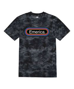EMERICA FM BLACK T-SHIRT