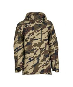 Bonfire Aspect 3l Stretch  Khaki Camo Men's Snow Jacket