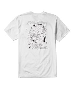 Etnies Keep On Trucking White Ανδρικό T-Shirt