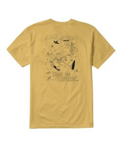 Etnies Keep On Trucking Mustard Ανδρικό T-Shirt