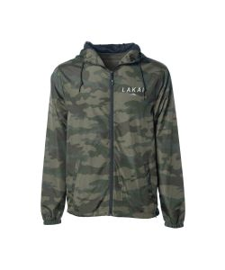 Lakai Stacked Forest Camo Windbreaker