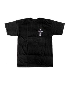 Dog Town Cross Logo Black Men's T-Shirt