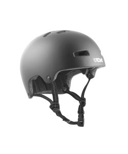 TSG Nipper Maxi Solid Color Satin Black  Kids Helmet