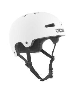 TSG Evolution Solid Color Satin White Helmet
