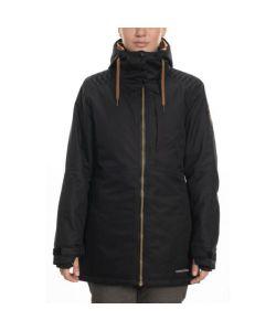 686 Aeon Black Dobby Women's Snow Jacket