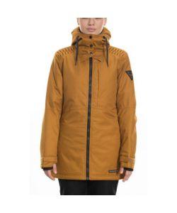 686 Aeon Golden Brown Dobby Women's Snow Jacket