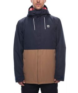 686 FOUNDATION INSLULATED NAVY COLORBLOCK SNOW JACKET