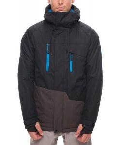 686 Geo Black Αντρικό Μπουφάν Snowboard