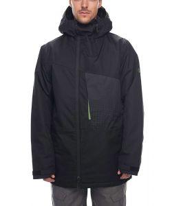 686 Icon Inslulated Black Αντρικό Μπουφάν Snowboard