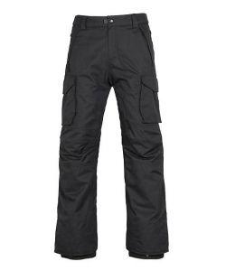 686 INFINITY CARGO BLACK SNOW PANTS