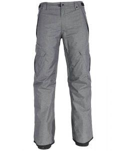686 Infinity Inslulated Cargo Grey Melange Men's Snow Pants