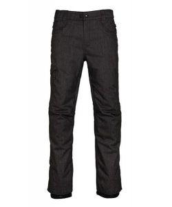 686 Raw Insulated Black Denim Men's Snow Pants