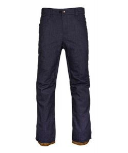 686 RAW INSULATED NAVY DENIM SNOW PANTS