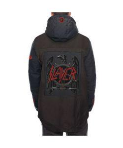 686 Slayer Insulated Black Denim Men's Snow Jacket