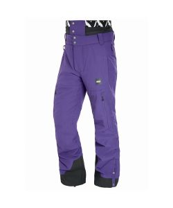 Picture Object Dark Purple Men's Snow Pants