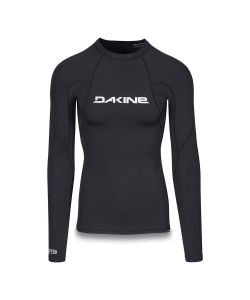 DAKINE HEAVY DUTY SNUG FIT LONG SLEEVE BLACK SURF SHIRT