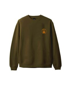 Macba Life OG Logo Green Orange Men's Crewneck