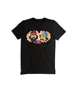 Flip Toms Friends Black Αντρικό T-Shirt